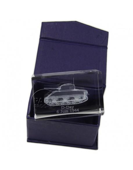 Presse-papier cristal Sherman