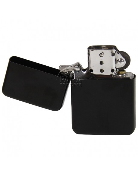 Lighter, Zippo type, black