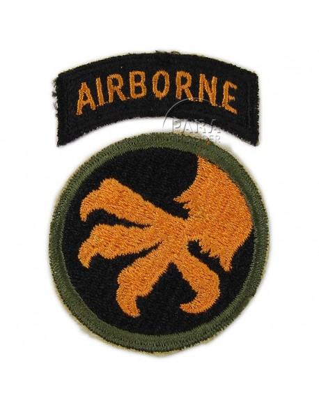 Patch, shoulder, 17th Airborne Divison