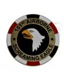 Pièce commémorative 101e Airborne, poker