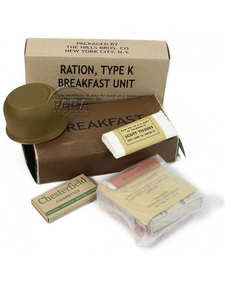 Ration K, Breakfast, 1st type