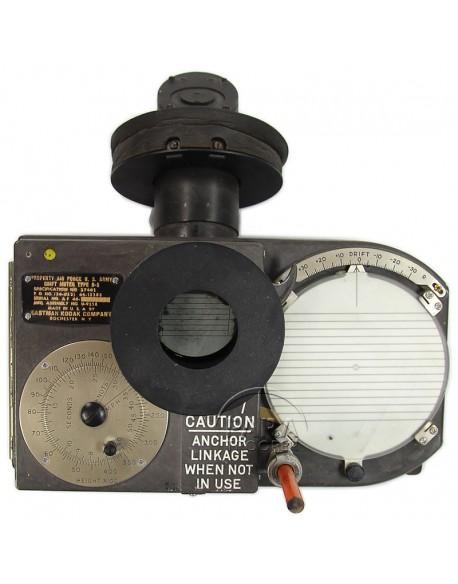 Calculateur de dérive type B-5, 1944, Kodak, Navigateur