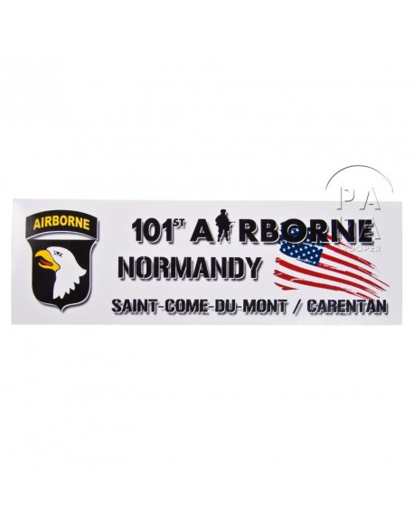 Magnet 101ème airborne, Normandy