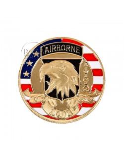 Coin, Comemorative, 101st Airborne Division