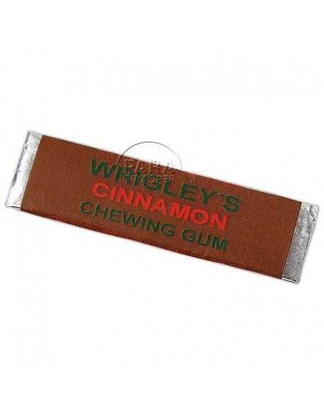 Chewing-gum, Wrigley's Cinnamon