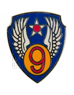Crest m tallique de la 9 me air force paratrooper for La 9eme porte
