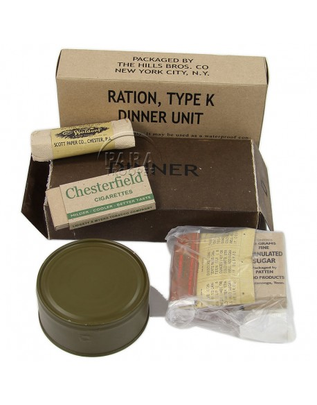 Ration K, Dinner, 1st type