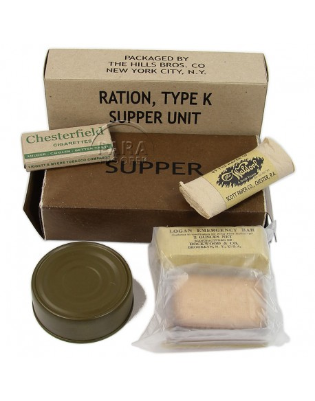 Ration K, Supper, 1st type