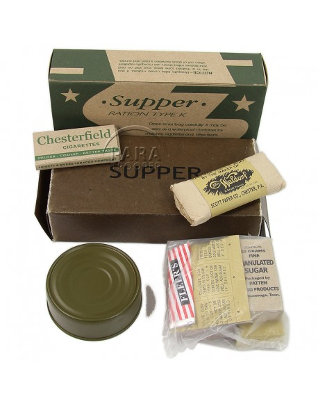 Ration K, Supper, 2e type
