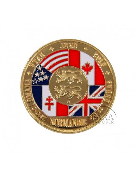 Coin, D-Day Landing