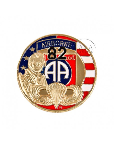 Coin, 82nd Airborne Division US