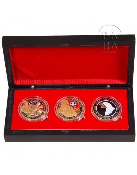 Coffret de 3 pièces commémoratives