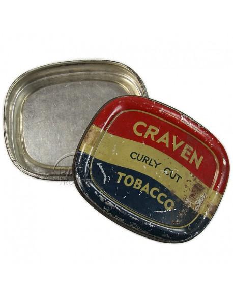 Boite de tabac anglais Craven
