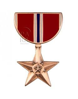 Crest métallique de la médaille Bronze Star