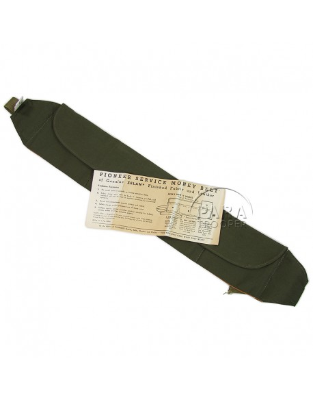 "Ceinture porte-billets US Army G.I. ""money belt"""