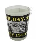 Verre à liqueur D-Day 6.6.1944