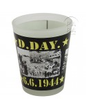 Shot glass, D-Day 6.6.1944