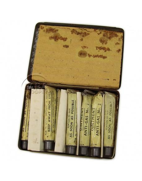 Boite de pommade de décontamination, N°2, 1939