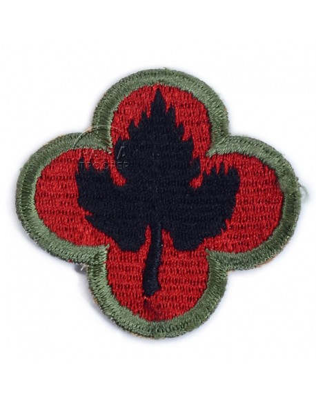 Patch, 43rd Infantry Division, OD border