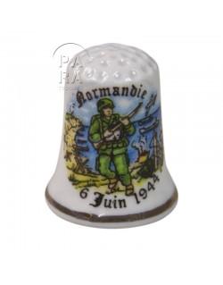 Dé à coudre Normandie 6 juin 1944