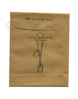 Chains, Identity tag's, in wrapped paper