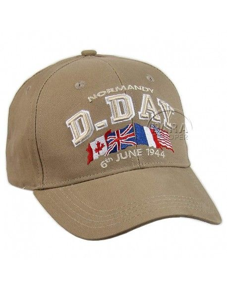 Cap, Baseball, D-Day, Sand