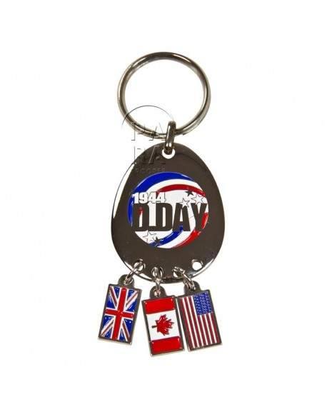 Key Ring, D-Day (Tassel)