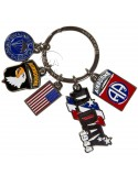 Key Ring, US Airborne (Tassel)