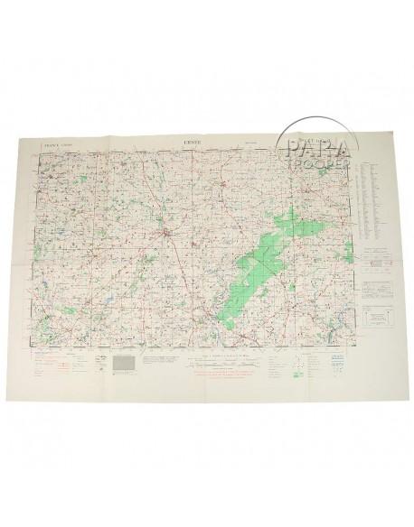 Carte de Ernée, 1943