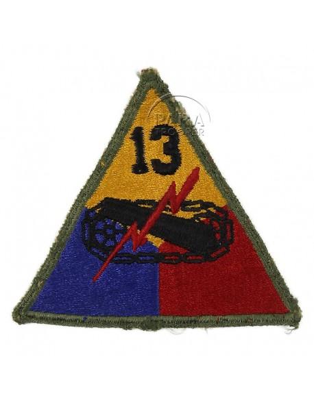 Insigne 13e division blindée