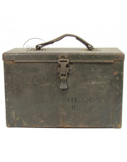 Case, Tin, Ammunition, Cal .50, 1st type