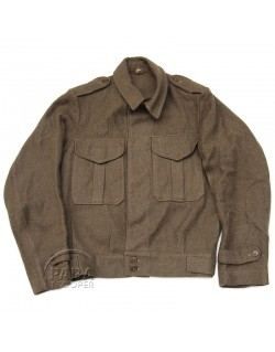 Blouson Ike, Australian Made, 1944, nominatif