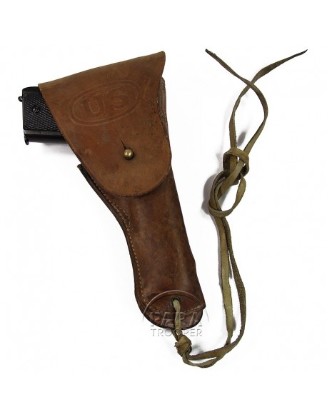 Holster, Belt pistol, Colt .45, BOYT
