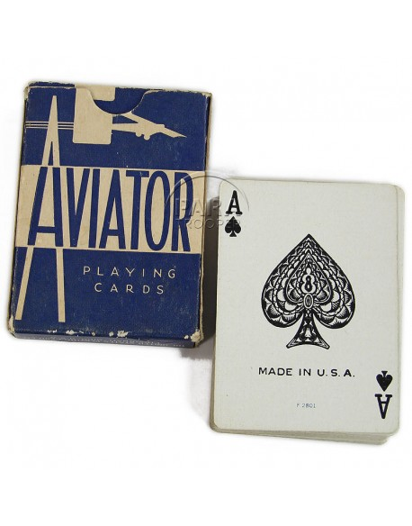 Jeu de cartes Aviator