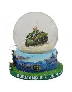 Snow globe, tank, large
