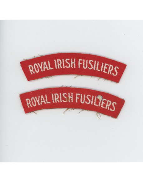 Insignes Dunkerque, Royal Irish Fusiliers
