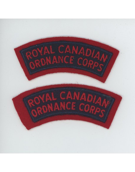 Insignes Royal Canadian Ordnance Corps