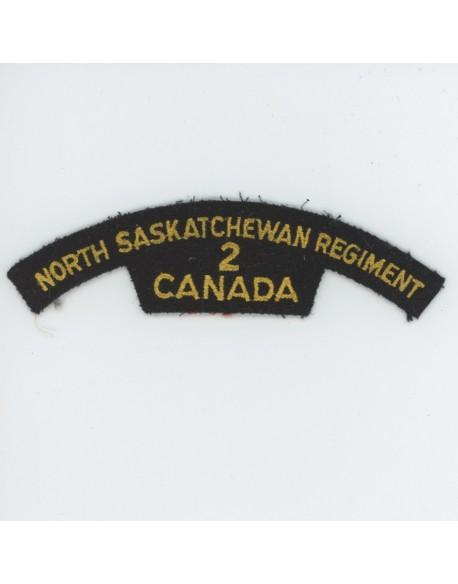 Insigne bataille de Normandie North Saskatchewan Rgt. 2 Canada