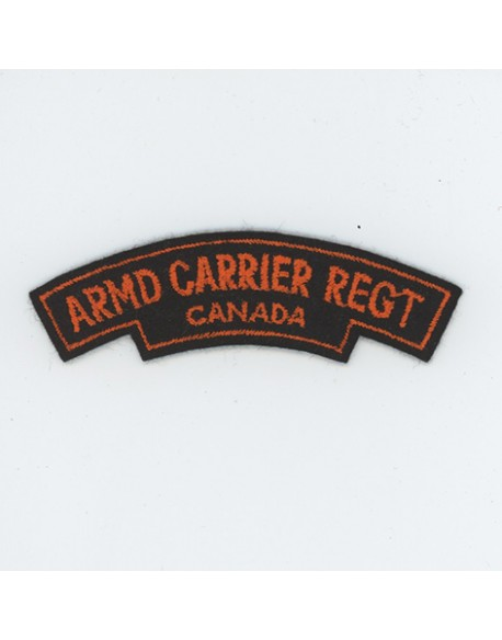 Insigne Armd Carrier Regt Canada