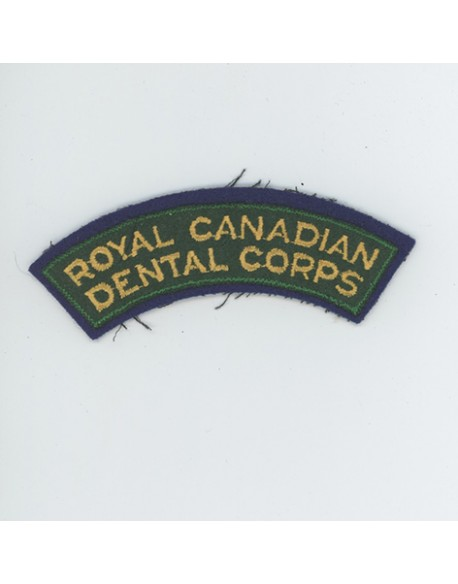 Title Royal Canadian Dental Corps