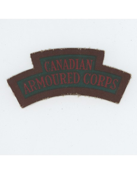 Insigne bataille de Normandie Canadian Armoured Corps