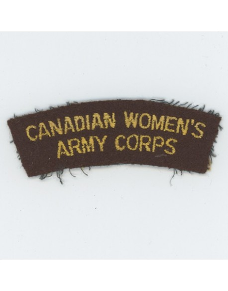 Title Canadian Women's Army Corps