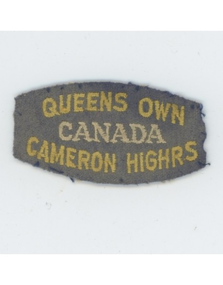 The Queens Own Cameron Highlanders of Canada.