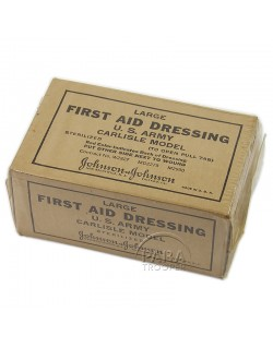 First-aid dressing, Large, Johnson & Johnson, US Army