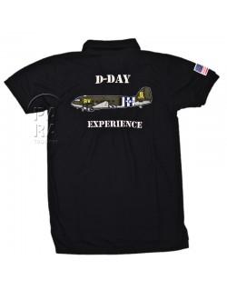 Polo noir, 101e Airborne Div., D-Day Experience
