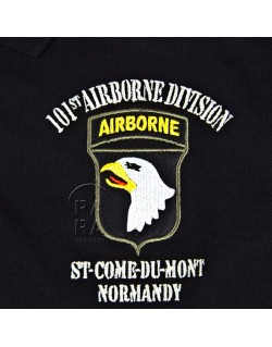 Polo noir, 101st Airborne, D-Day Experience