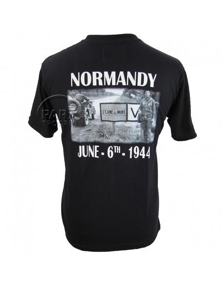 T-shirt, 101e Airborne Div. / Saint-Côme-du-Mont