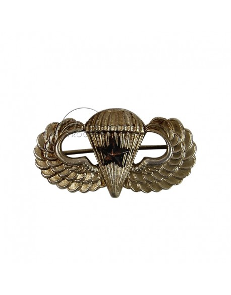 Wings, Parachutist, with pin, 1 star