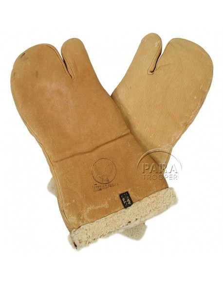 Gloves, Leather, Bomber, Type A-9A, fawn-colored