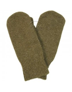 Gants, moufles en laine